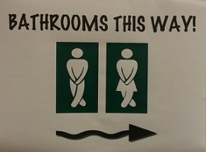 saint grace to the rescue/restroom