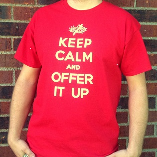 Offer It Up Shirt shrunk